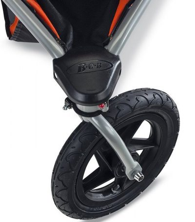 BOB Revolution PRO Duallie - Swivel front wheel