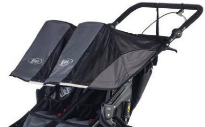 BOB Revolution PRO Duallie - Separately adjustable canopies