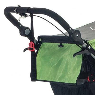 BOB Sport Utility Stroller has also a handbrake