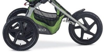 BOB Sport Utility Stroller has three 16'' wheels