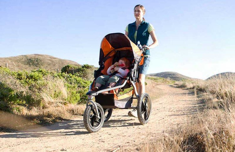 BOB Revolution SE Single - jogging stroller