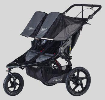 bob revolution pro duallie double stroller for jogging