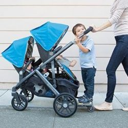 UPPAbaby VISTA has option for two or even three kids