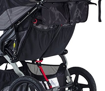 BOB Revolution FLEX Duallie Stroller - Storage pockets