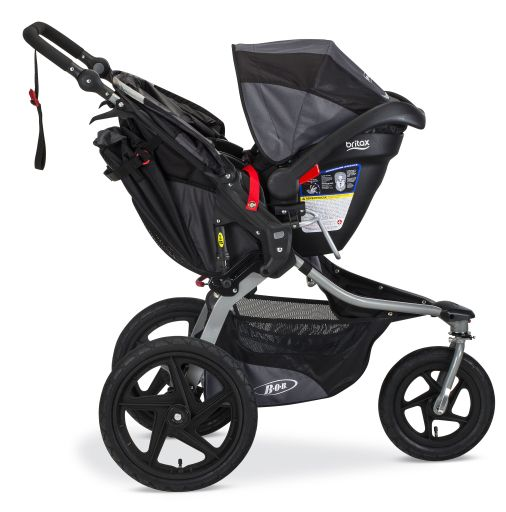 BOB Revolution Flex with Britax infant car seat