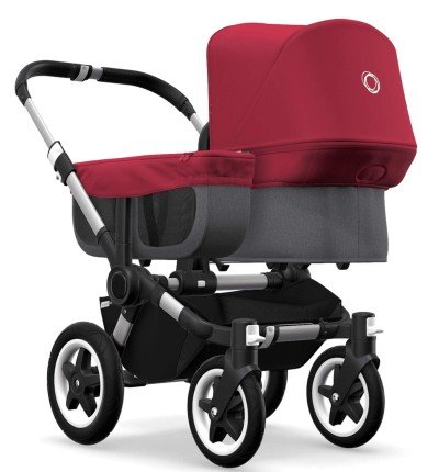 Bugaboo Donkey2 can also serve you as a pram for newborn baby