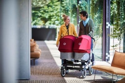Bugaboo Donkey2 Twin Mode with 2 bassinets