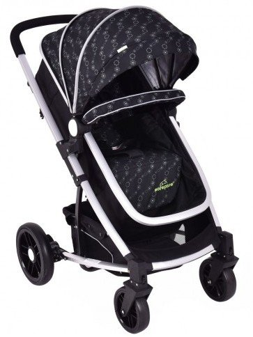Costzon Foldable Baby Stroller 2-in-1