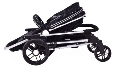Costzon Foldable Baby Stroller - Folded