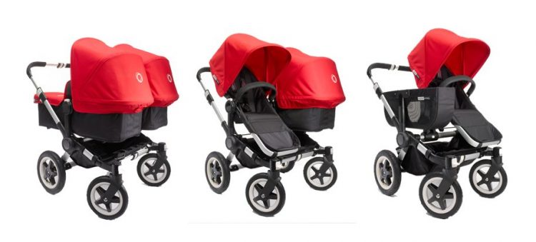 the best strollers for two kids, best stroller for infant and toddler, bugaboo donkey twin, bugaboo donkey duo