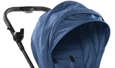 Baby Jogger City Tour LUX has extendable canopy