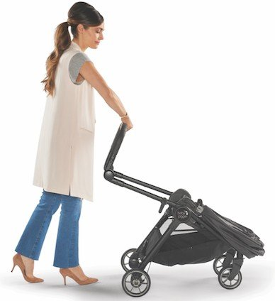 Baby Jogger City Tour LUX can be folded with one hand
