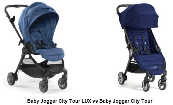 Baby Jogger City Tour LUX vs Baby Jogger City Tour