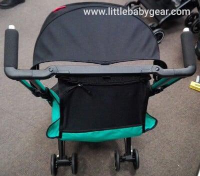 GB Pockit Plus umbrella stroller - Handles