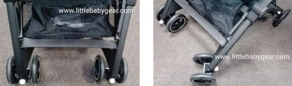 Pockit Plus GB - Swivel lockable front wheels