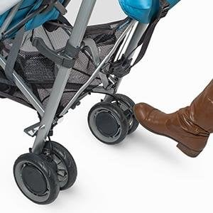 uppababy g-luxe foot-operated brake