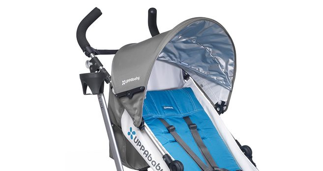 uppababy g-luxe handles and canopy