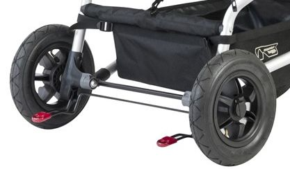 Mountain Buggy Duet brakes