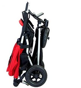 Mountain Buggy Duet - folded stroller