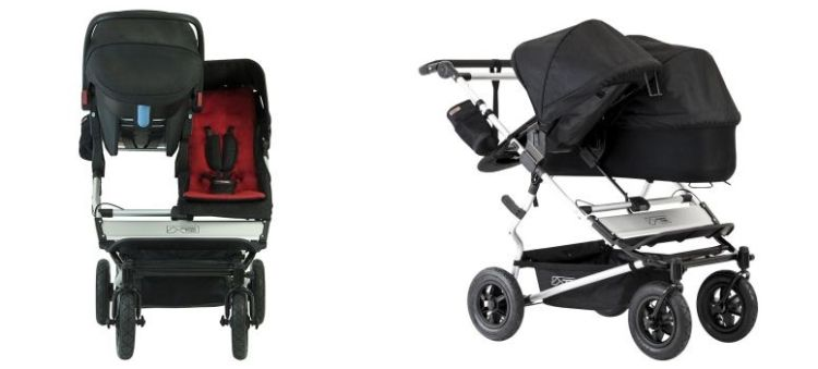 Mountain Buggy Duet for infant and toddler