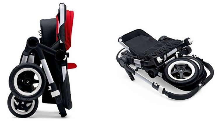 Bugaboo Donkey Twin - folded