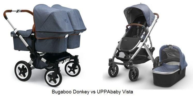 Bugaboo Donkey vs UPPAbaby Vista