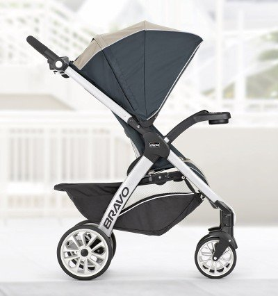Chicco Bravo Trio Travel System regular seat
