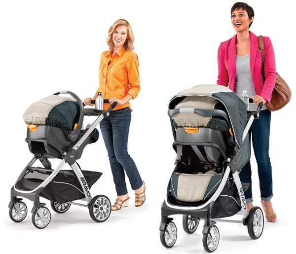 Chicco Bravo Trio with KeyFit 30