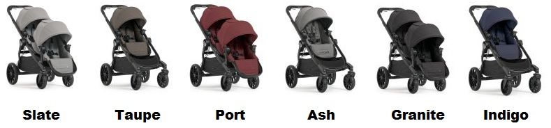 Baby Jogger City Select LUX color versions - Best Strollers of 2018