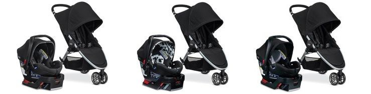 Britax 2017 B-Agile & B-Safe 35 Elite Travel System - color versions