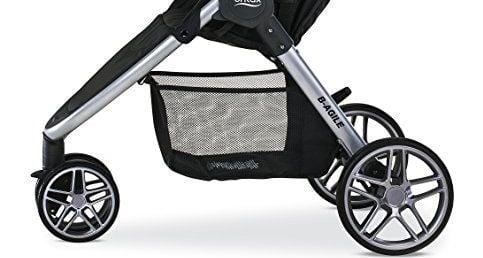 Britax 2017 B-Agile Stroller basket