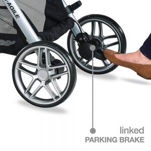Britax 2017 B-Agile parking brake