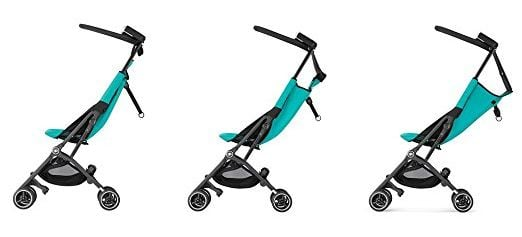 GB Pockit Plus 2017 features reclining seat - Best Strollers of 2017