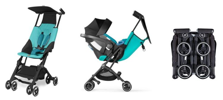 GB Pockit Plus 2017 offers reclining seat and compatibility with infant car seats
