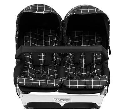 Mountain Buggy Duet 2017 - regular seats