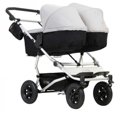 Mountain Buggy Duet V3 with two carrycots
