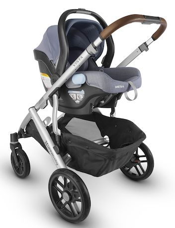 UPPAbaby CRUZ 2018 with MESA Infant Car Seat - Best Strollers of 2018