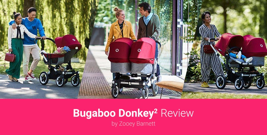 Celebrity bugaboo donkey twin