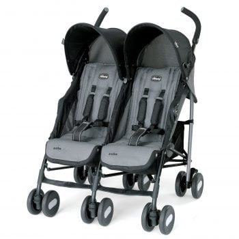chicco echo twin double lightweight strollers
