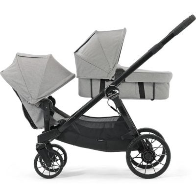 Baby Jogger City Select LUX 2017 for two kids at different age