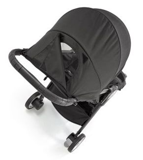 Baby Jogger City Tour 2017 canopy with peek-a-boo window