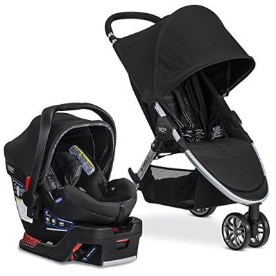 Britax 2017 B-Agile 3 B-Safe 35 Elite Travel System