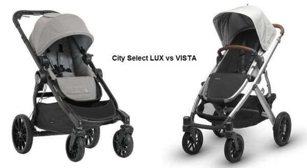 City Select LUX vs VISTA 2017