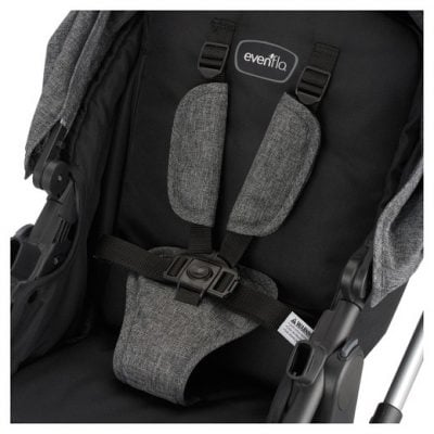 Evenflo Pivot Modular Travel System 5-point harness