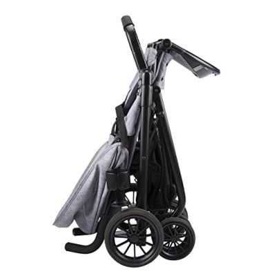 Folded Sibby Travel System Stroller Cheap stroller with car seat