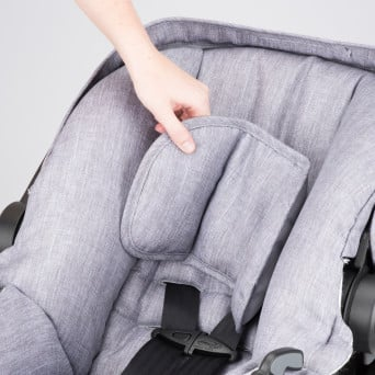 Evenflo Sibby Travel System infant car seat removable head pillow