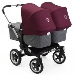 Bugaboo Donkey2 in Twin Version for newborns Newest and Best strollers 2018
