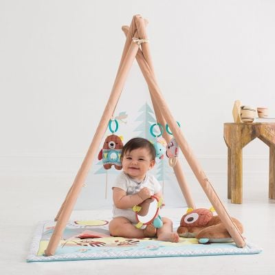 Skip Hop Baby Camping Cubs Activity Gym and Playmat, Christmas Gift Ideas for Baby 2020