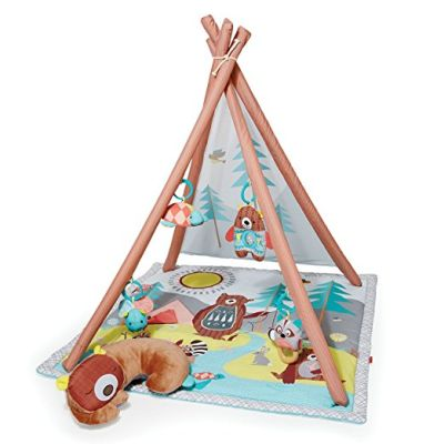 skip hop baby infant and toddler camping cubs activity gym and playmat christmas gift ideas