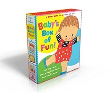 Baby's Box of Fun: A Karen Katz Lift-the-Flap Books Set